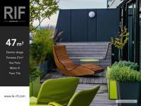 T2 de 47 m² avec terrasse de 21 m²