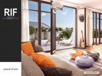 Studio de 29 m² avec terrasse de 21 m²