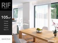 T4 de 105 m2 avec espace de vie de 45 m²