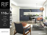 T4 de 110 m² avec terrasse de 12 m²
