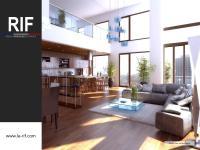 Appartement 4 pièces duplex de 101 m² avec terrasse et balcon