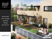 Appartement 4 pièces de 88 m² traversant avec terrasses et jardin