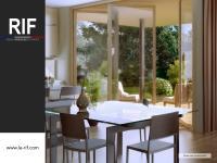Appartement T3 de 64 m² avec terrasse de 37 m² et jardin
