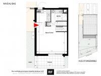 Maison 4 pièces de 80 m² avec terrasse et jardin