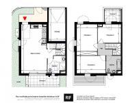 Maison 4 pièces de 86 m² avec terrasse et jardin