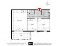 T3 de 63 m² avec loggia plein Sud