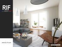 Appartement 3 pièces de 68 m² avec terrasse et parking