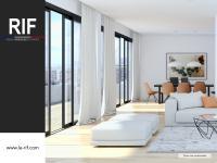 Appartement 5 pièces de 109 m² avec rooftop, jardin d\'hiver et parkings