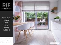 Appartement 3 pièces de 62 m² avec terrasse et jardin