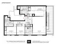 T4 de 92 m² avec rooftop de 62 m²