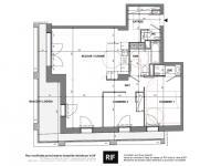 T3 de 76 m² avec balcon de 16 m²