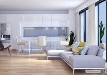 T3 de 66 m² avec balcon.