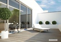 T4 de 116 m² avec rooftop.
