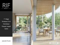 T3 de 61 m² avec terrasse de 37 m²