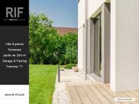 Villa 6 pièces de 106 m² avec terrasses et jardin de 204 m²