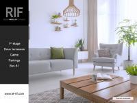 Appartement 4 pièces de 80 m² avec terrasses et parkings
