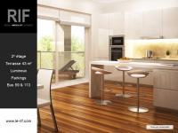 T4 de 86 m² avec terrasse de 43 m²