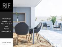 Appartement 4 pièces de 77 m² avec terrasse de 51 m²