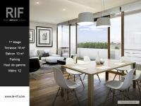 T3 de 67 m² avec terrasse de 18 m²