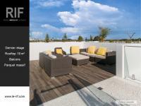 T2 de 54 m² avec rooftop de 19 m²
