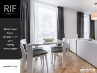 T4 DUPLEX de 99 m² avec terrasse et parking