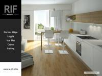 Appartement T2 de 46 m² avec loggia