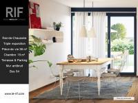 Appartement 3 pièces de 77 m² avec terrasse et parking