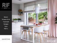 Maison 5 pièces de 115 m² avec terrasse et jardin